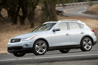 2013 INFINITI EX37, Front-quarter view, exterior, manufacturer, gallery_worthy
