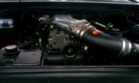Picture of 2004 Ford F-150 SVT Lightning 2 Dr Supercharged Standard Cab Stepside SB, engine