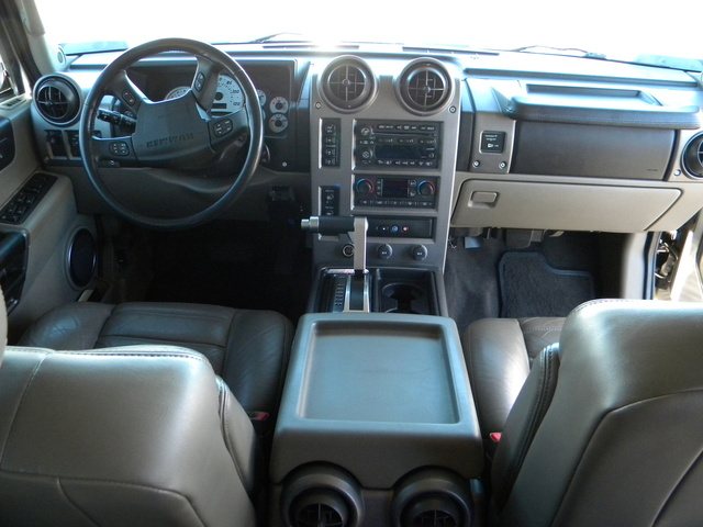 Who Owns Range Rover >> 2003 Hummer H2 - Interior Pictures - CarGurus
