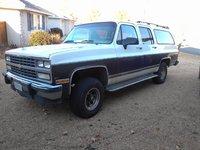 1991 Chevrolet Suburban V1500 4WD, front driver side, exterior