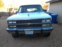 1991 Chevrolet Suburban V1500 4WD, front grill, exterior