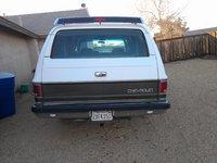 1991 Chevrolet Suburban V1500 4WD, rear tailgate, exterior