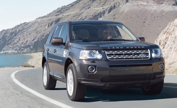 2013 Land Rover LR2, Front quarter view, exterior, manufacturer