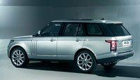 2013 Land Rover Range Rover, Back quarter view., exterior, manufacturer