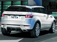 2013 Land Rover Range Rover Evoque, Back quarter view copyright AOL Autos., manufacturer, exterior