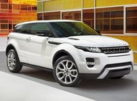 2013 Land Rover Range Rover Evoque, Front quarter view copyright AOL Autos., manufacturer, exterior