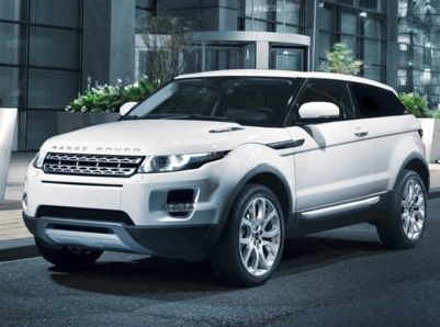 2013 Land Rover Range Rover Evoque, Front quarter view copyright AOL Autos., exterior, manufacturer