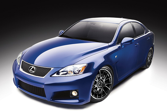 2013 Lexus IS F, Front quarter view., manufacturer, exterior
