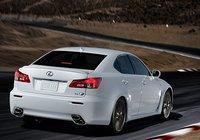 2013 Lexus IS F, Back quarter view., exterior, manufacturer