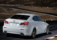 2013 Lexus IS F, Back quarter view., manufacturer, exterior