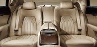 2013 Maserati Quattroporte, Back Seat View., interior, manufacturer