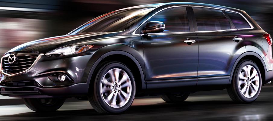 2013 Mazda CX-9, Front quarter view., exterior, manufacturer