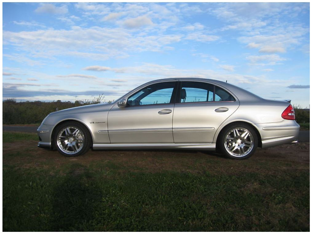 picture of 2003 mercedes benz e class e55 amg exterior. Black Bedroom Furniture Sets. Home Design Ideas