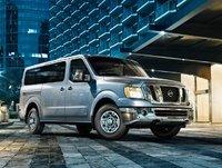 2013 Nissan NV Passenger, Front-quarter view, exterior, manufacturer