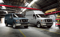 2013 Nissan NV Cargo, Regular and High-Roof NV Cargo vans, exterior, manufacturer