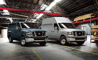 2013 Nissan NV Cargo, Regular and High-Roof NV Cargo vans, manufacturer, exterior