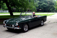 1967 Sunbeam Tiger, Me in my Tiger, exterior