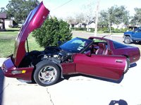 Picture of 1993 Chevrolet Corvette Coupe, exterior, engine