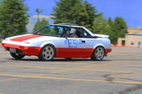 1988 Toyota MR2, The first time I raced her., exterior
