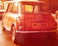 1971 Morris Mini Overview