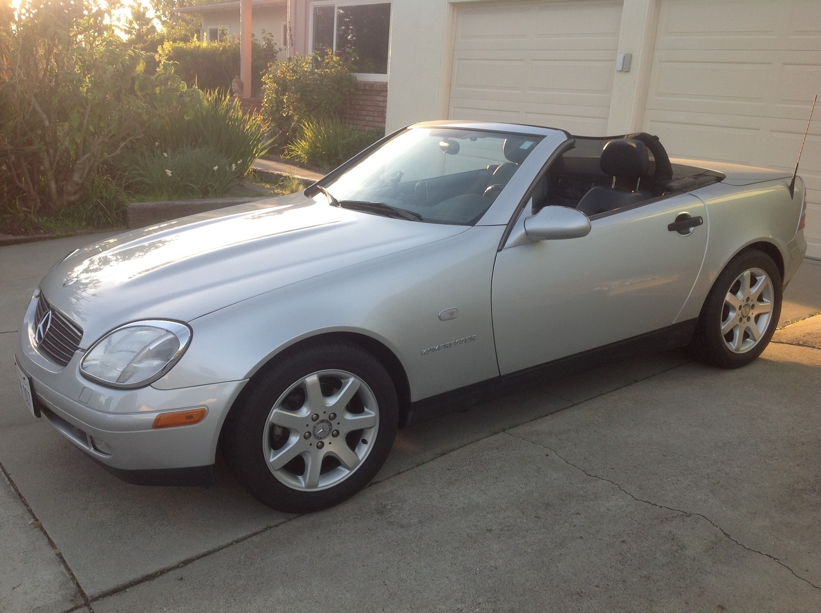 picture of 1998 mercedes benz slk class slk230 supercharged exterior. Black Bedroom Furniture Sets. Home Design Ideas
