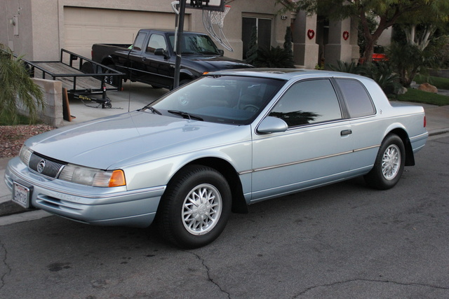 Picture of 1993 Mercury Cougar 2 Dr XR7 Coupe, exterior, gallery_worthy