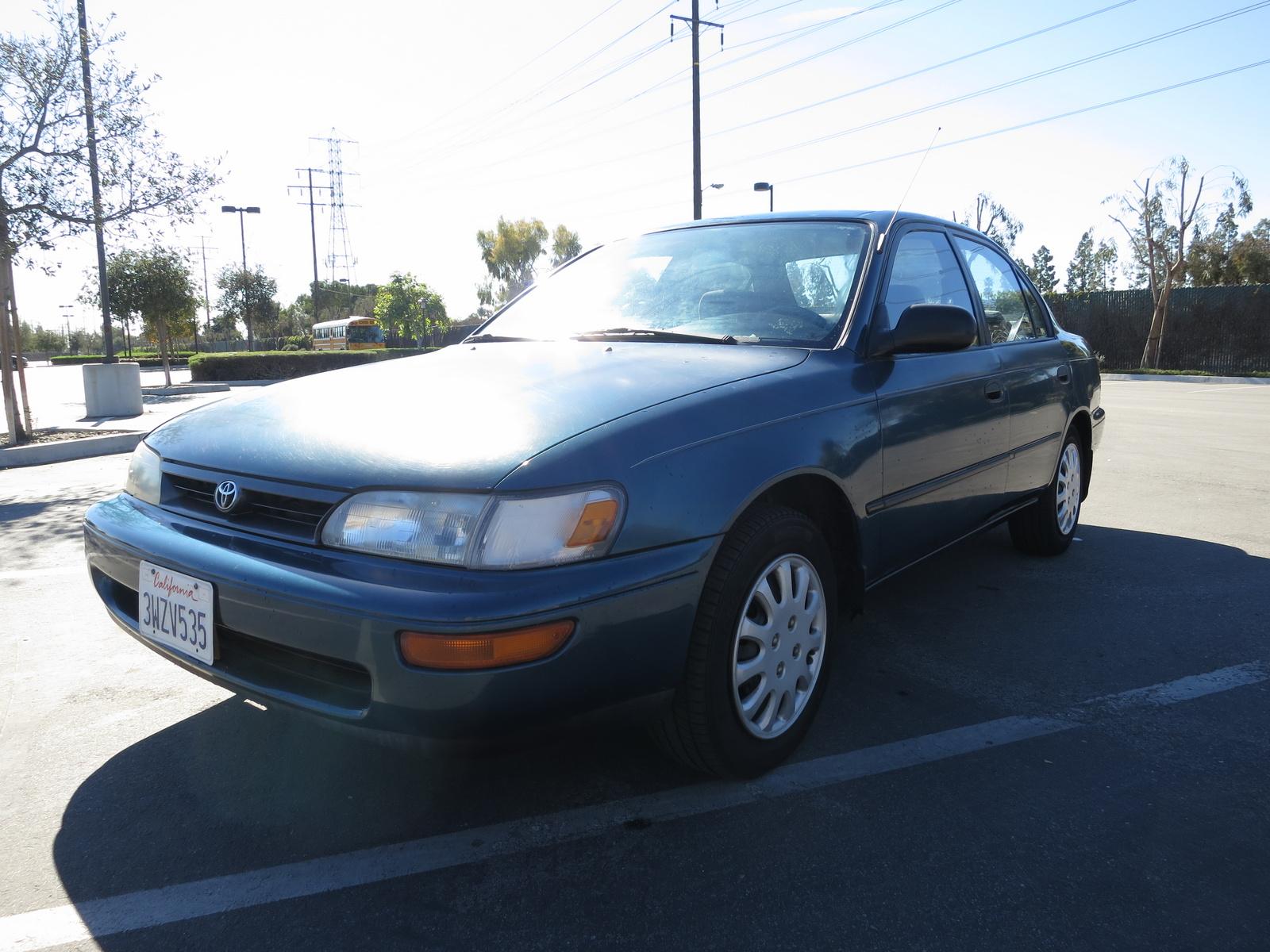 1994 Toyota Corolla - Trim Information - CarGurus