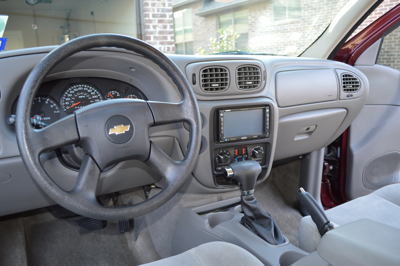 2007 trailblazer interior pictures
