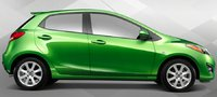 2013 Mazda MAZDA2, Side View., exterior, manufacturer
