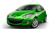 2013 Mazda MAZDA2, Front View., exterior, manufacturer