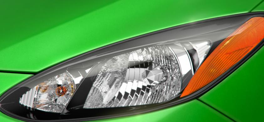 2013 Mazda MAZDA2, Headlight., exterior, manufacturer