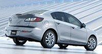 2013 Mazda MAZDA3, Back quarter view., exterior, manufacturer
