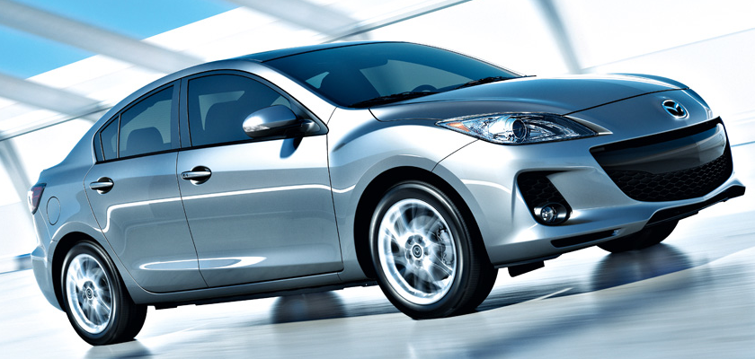 2013 Mazda MAZDA3, Front quarter view., exterior, manufacturer