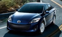 2013 Mazda MAZDA3, Front View., exterior, manufacturer