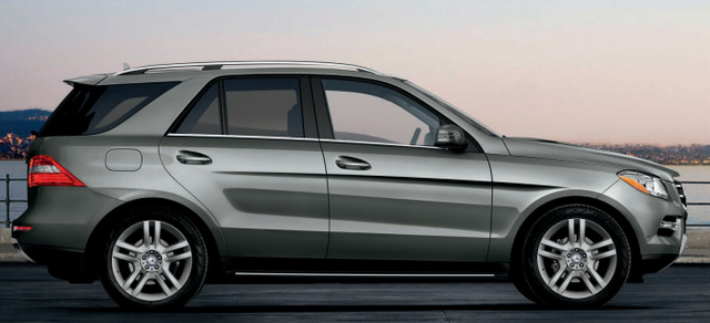 2013 Mercedes-Benz M-Class, Side Door., exterior, manufacturer