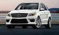 2013 Mercedes-Benz M-Class, Front View., exterior, manufacturer