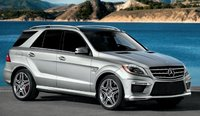 2013 Mercedes-Benz M-Class, Front quarter view., manufacturer, exterior