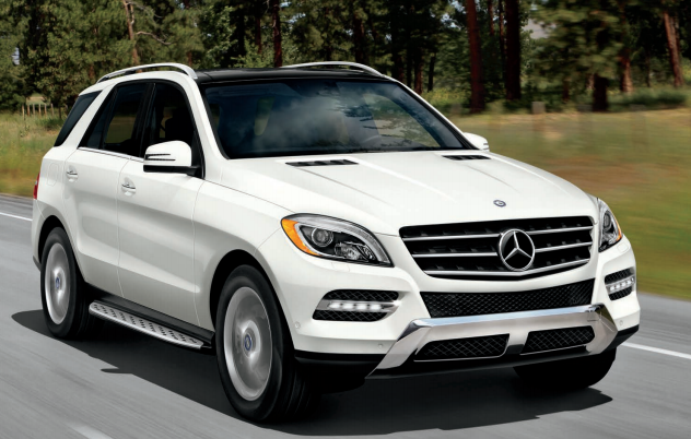 2013 Mercedes-Benz M-Class, Front quarter view., exterior, manufacturer
