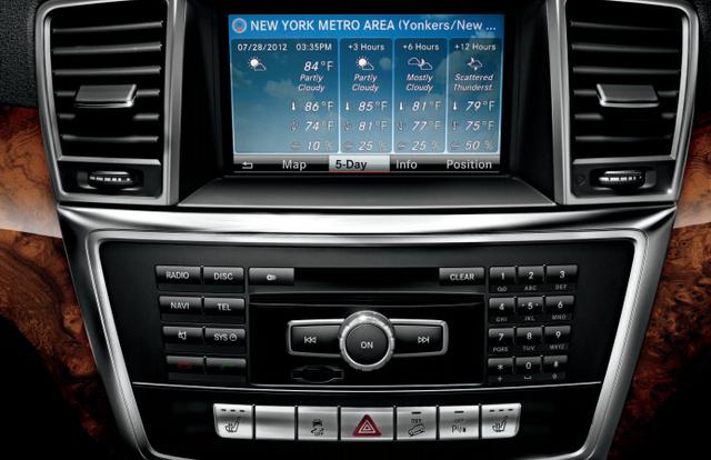 2013 Mercedes-Benz M-Class, Stereo., interior, manufacturer