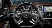 2013 Mercedes-Benz M-Class, Stereo., interior, manufacturer