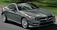 2013 Mercedes-Benz SLK-Class, Front quarter view., manufacturer, exterior