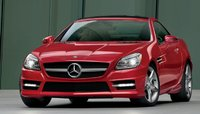 2013 Mercedes-Benz SLK-Class, Front quarter view., exterior, manufacturer