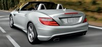2013 Mercedes-Benz SLK-Class, Back quarter view., exterior, manufacturer