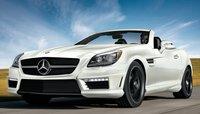 2013 Mercedes-Benz SLK-Class, Front View., exterior, manufacturer