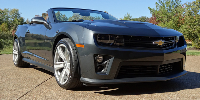 Picture of 2013 Chevrolet Camaro ZL1 Convertible, exterior
