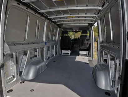 2013 Mercedes-Benz Sprinter, Trunk copyright AOL Autos., manufacturer, exterior, interior