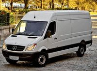 2013 Mercedes-Benz Sprinter, Front quarter view copyright AOL Autos., exterior, manufacturer