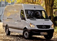 2013 Mercedes-Benz Sprinter, Front View copyright AOL Autos., exterior, manufacturer