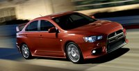 2013 Mitsubishi Lancer Evolution, Front quarter view., exterior, manufacturer