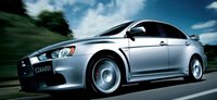 2013 Mitsubishi Lancer Evolution, Front quarter view., manufacturer, exterior